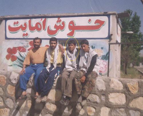 مسیر پیاده روی از اندیمشک به تهران -1378