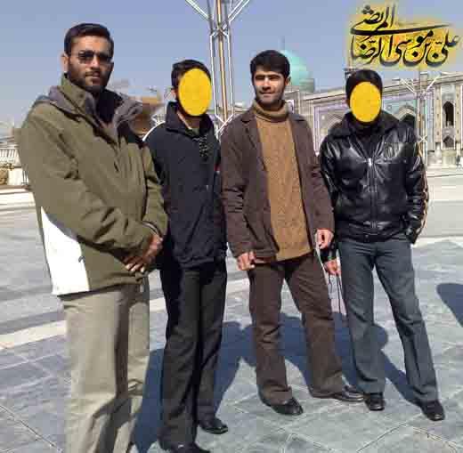 شهید بابایی در مشهد